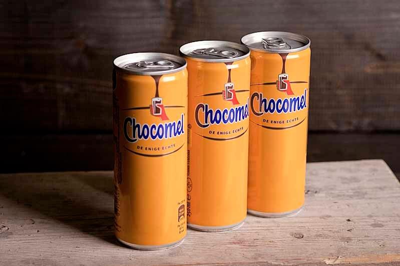 Chocomel tray 24 x 25cl blik