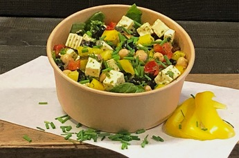 Kikkererwt-feta salade (Vega) 750cc NIEUW