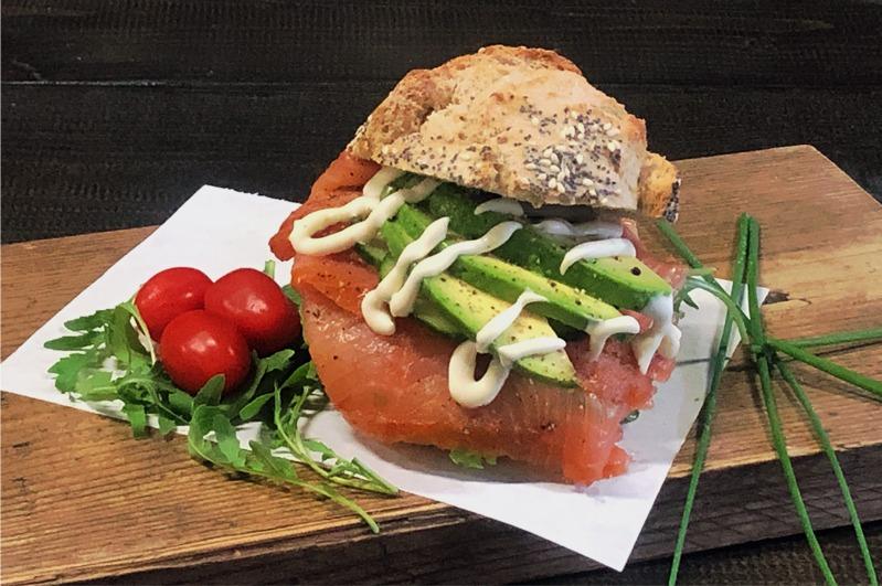 Broodje Zweedse zalm