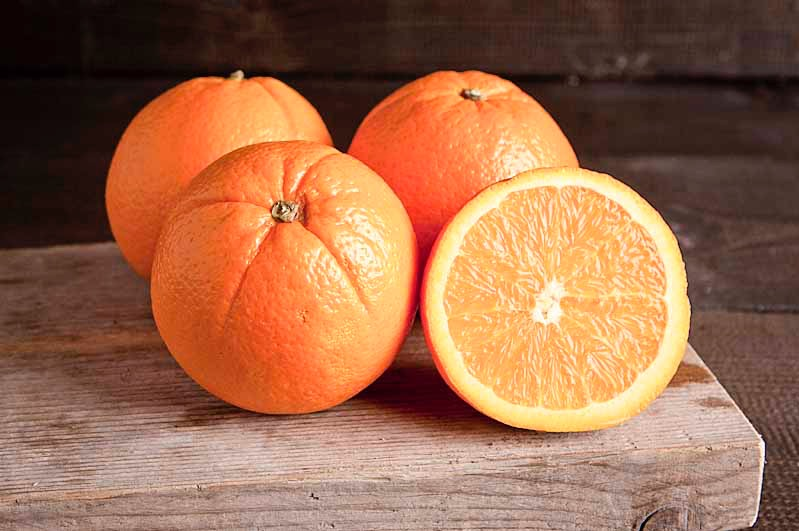 Sinaasappel hand, klasse 1, per stuk