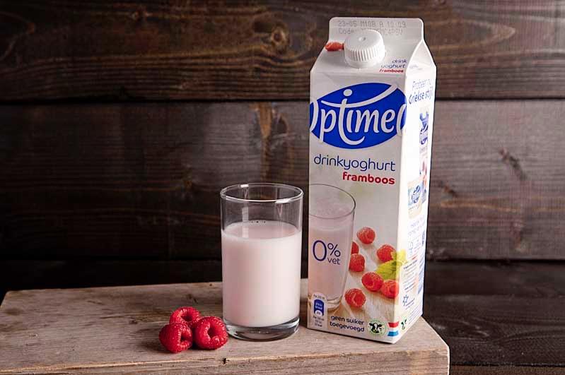 Optimel drink framboos 1,0 ltr pak
