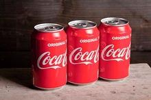 Coca-cola blikje 330 cc