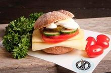 Glutenvrij broodje kaas gezond